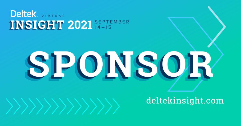 deltek insight sponsor
